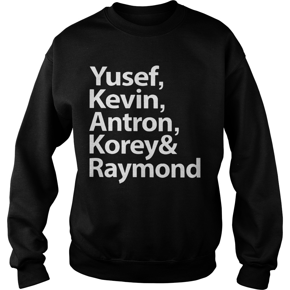 Ava Duvernay Yesef Kevin Antron Korey And Raymond Sweater