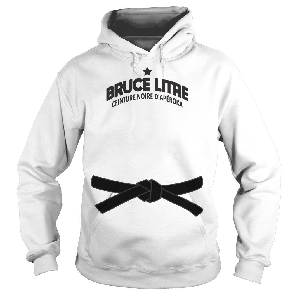 Bruce Litre Ceinture Noire D'apéroka Hoodie