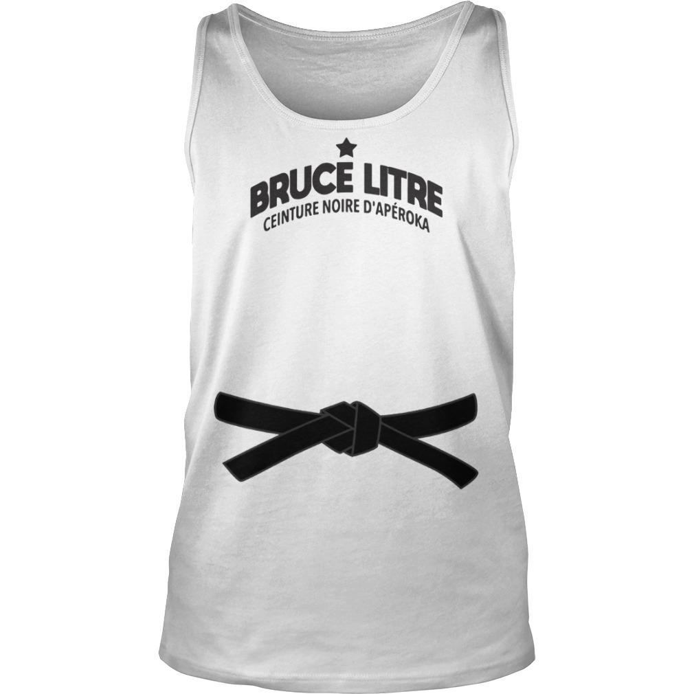 Bruce Litre Ceinture Noire D'apéroka Tank Top