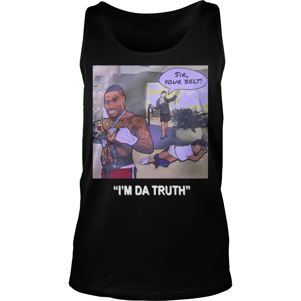 Dababy I'm Da Truth Tank Top