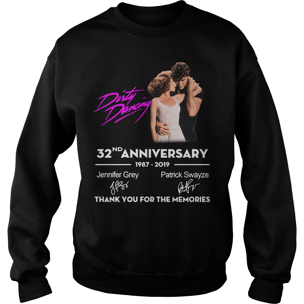 Dirty Dancing 32nd Anniversary 1987 2019 Thank You For The Memories Sweater