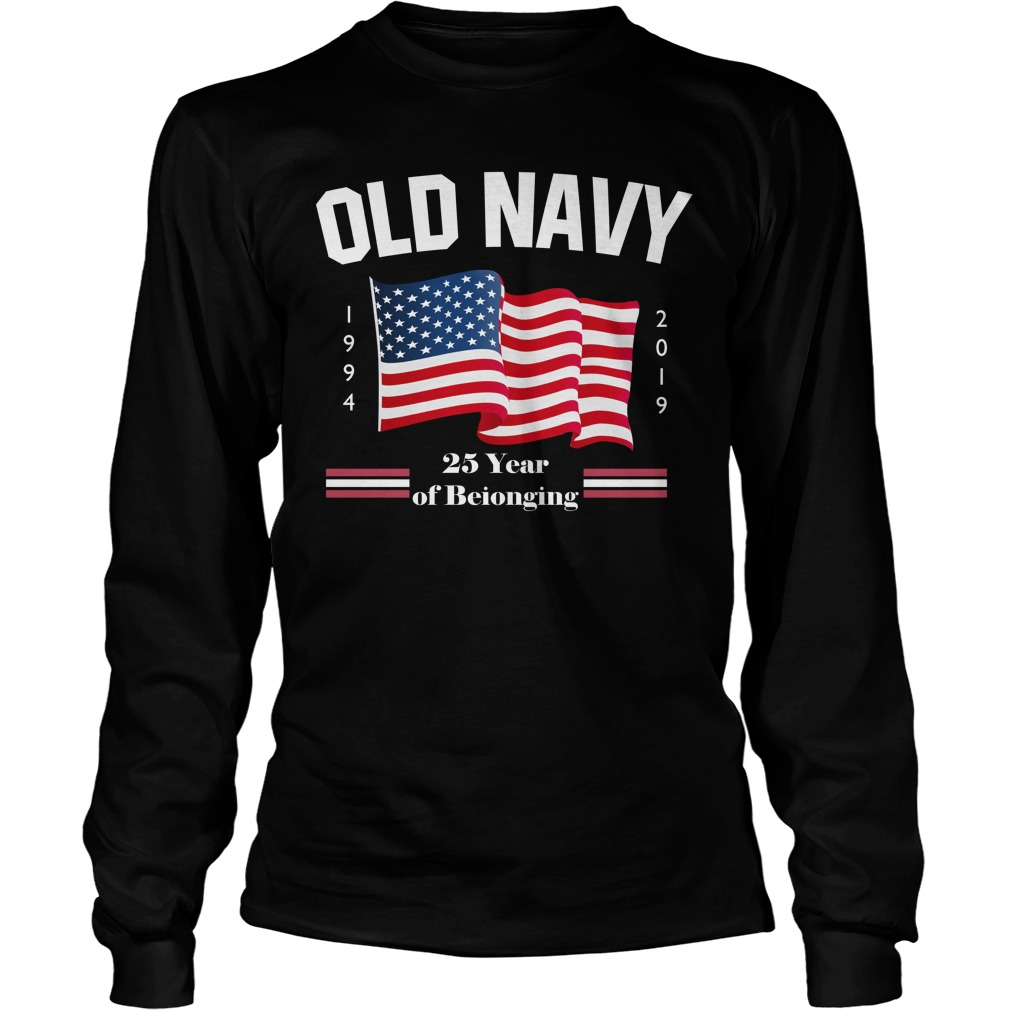 Fourth Of July Old Navy Purple Longsleeve Tee
