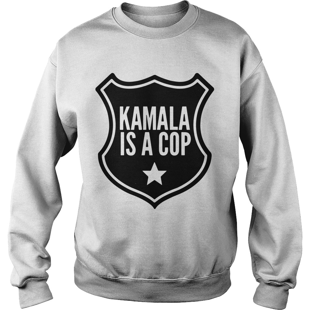 Kamala Is A Cop Sweater