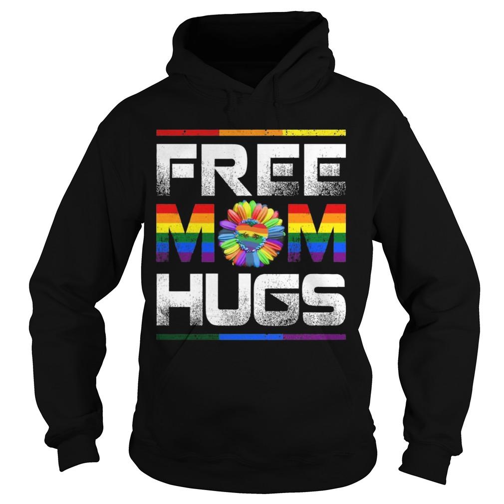 Lgbt Pride Month Free Mom Hugs Hoodie