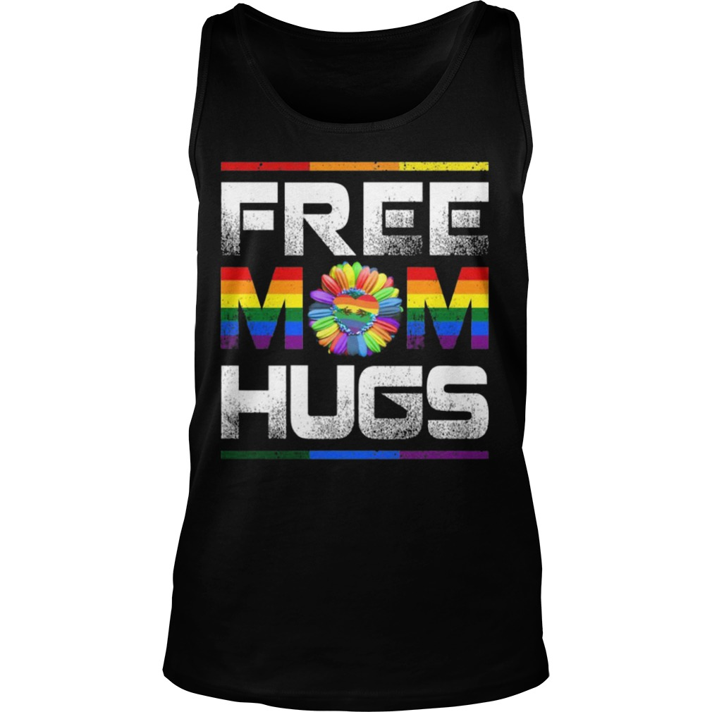 Lgbt Pride Month Free Mom Hugs Tank Top