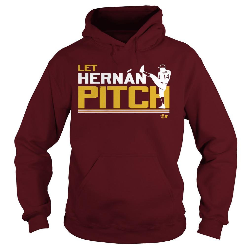 Let Hernan Pitch Hoodie