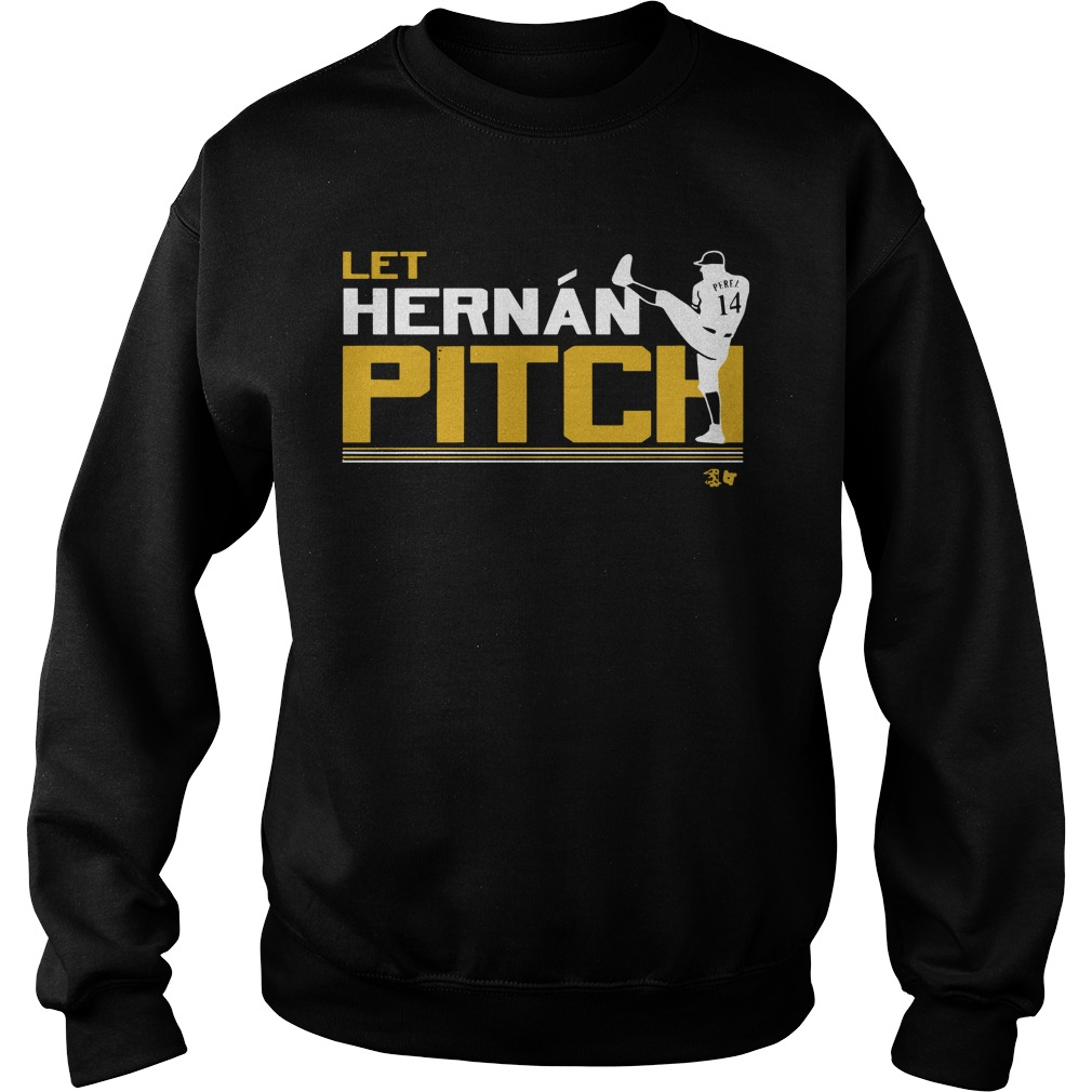 Let Hernan Pitch Sweater