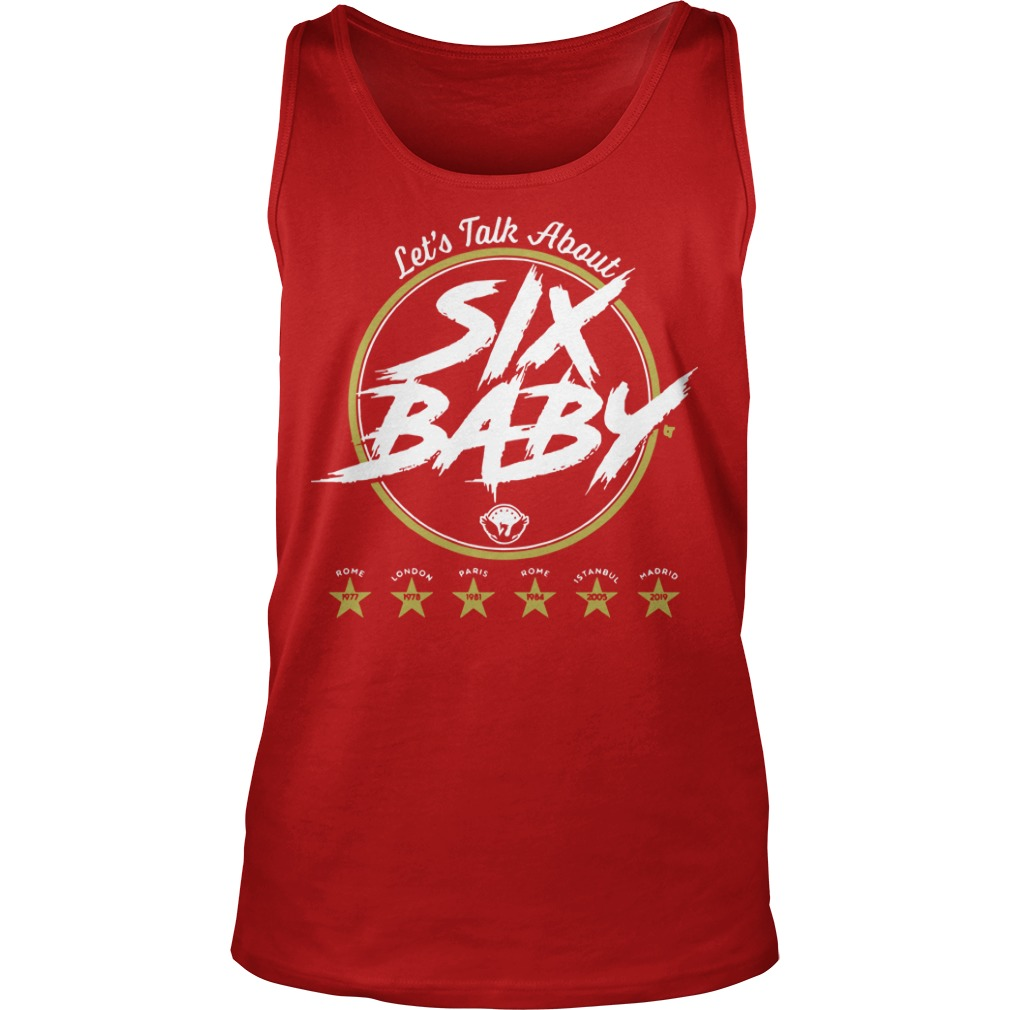 Let's Talk About Six Baby Tank Top