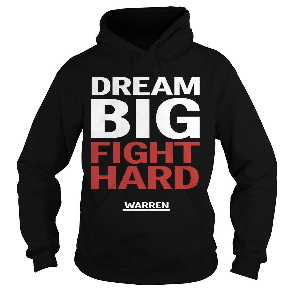 Louis Peitzman Dream Big Fight Hard Warren Hoodie