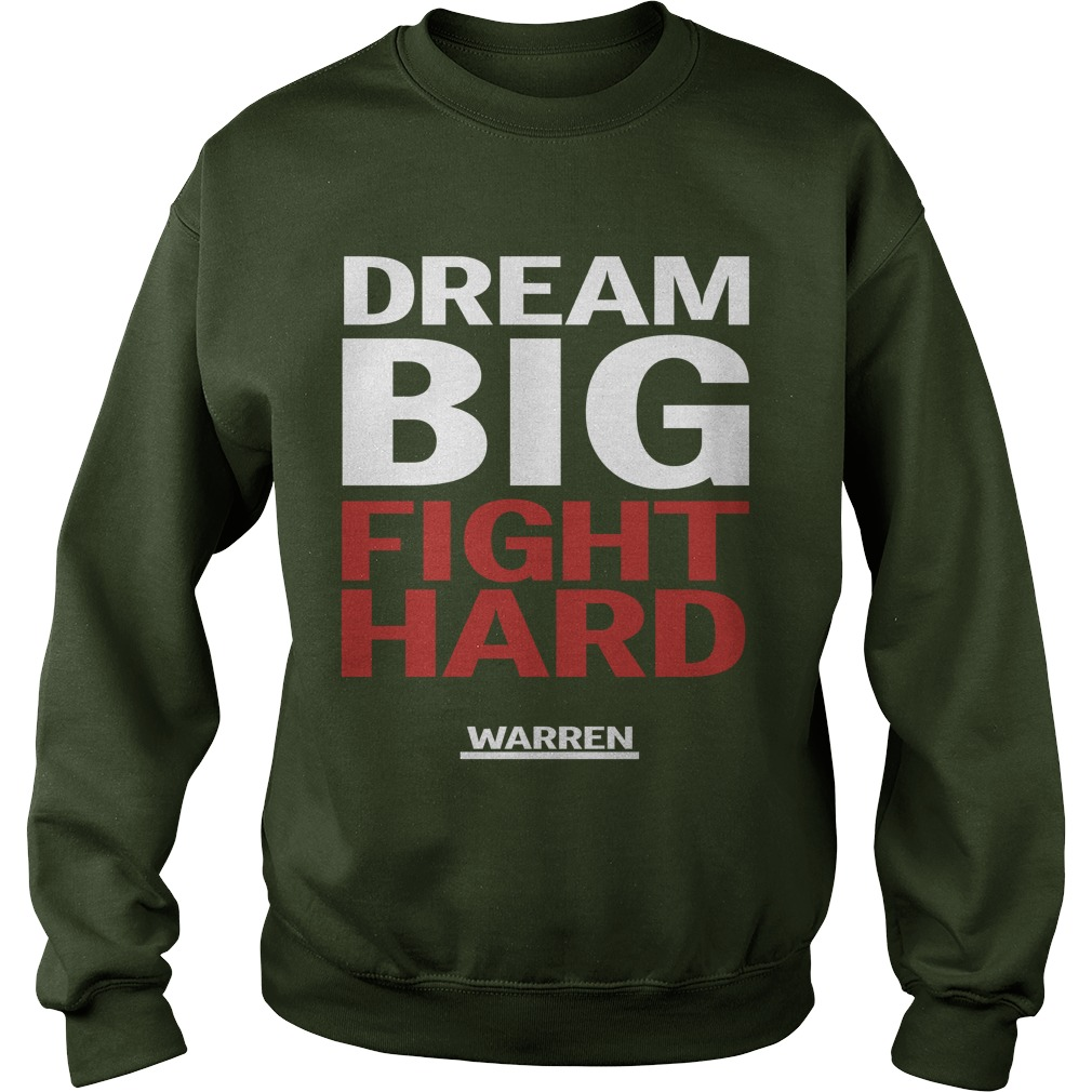 Louis Peitzman Dream Big Fight Hard Warren Sweater