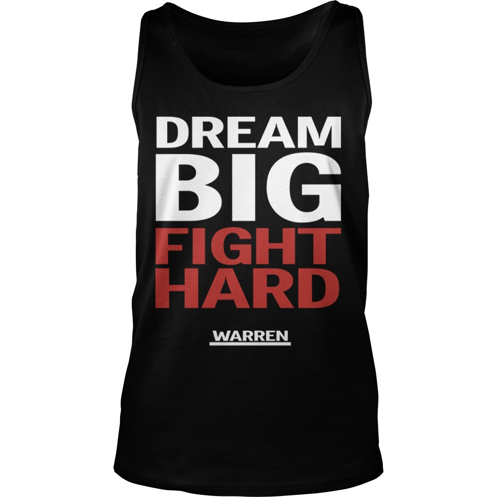 Louis Peitzman Dream Big Fight Hard Warren Tank Top