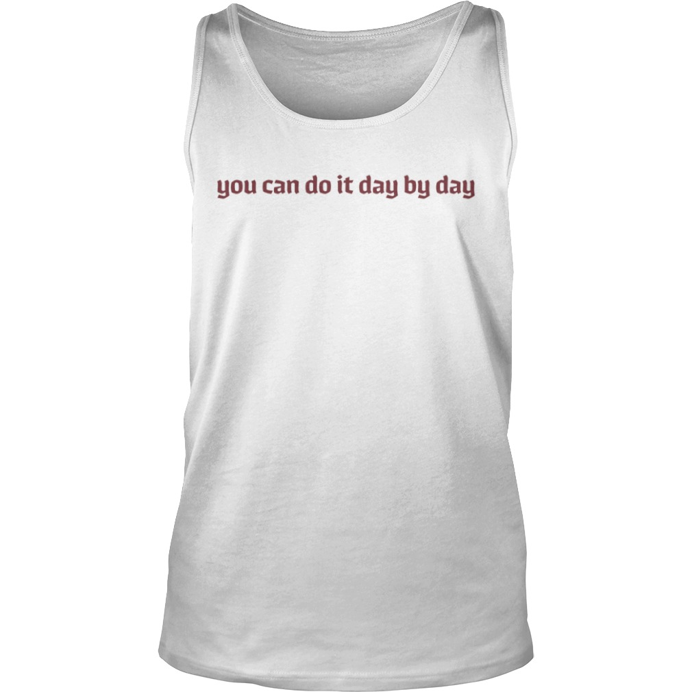 Maeve You Can Do It Day By Day Tank Top