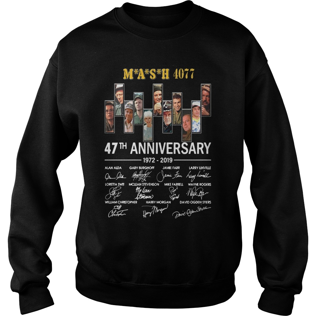 Mash 4077 47th Anniversary 1972 2019 Sweater