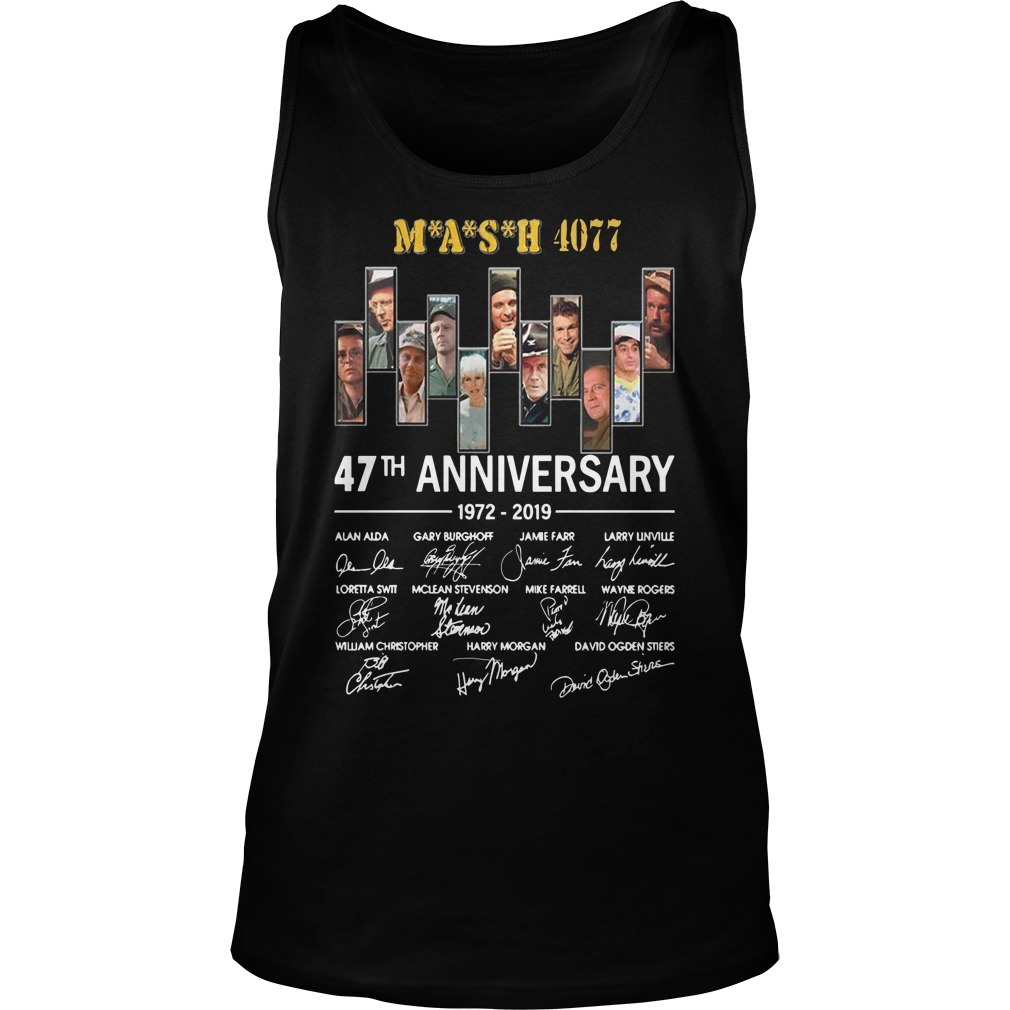 Mash 4077 47th Anniversary 1972 2019 Tank Top