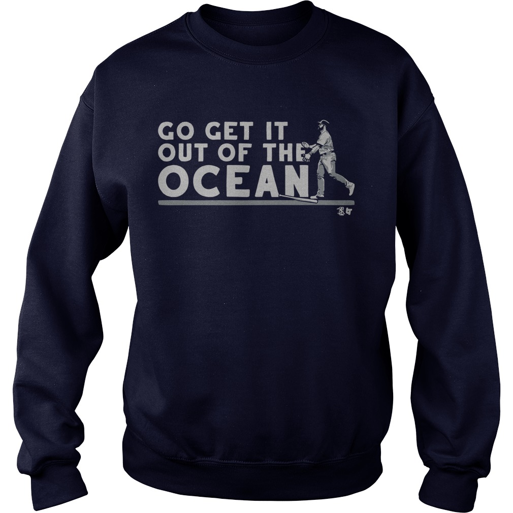 Max Muncy Go Get It Out Of The Ocean Sweater