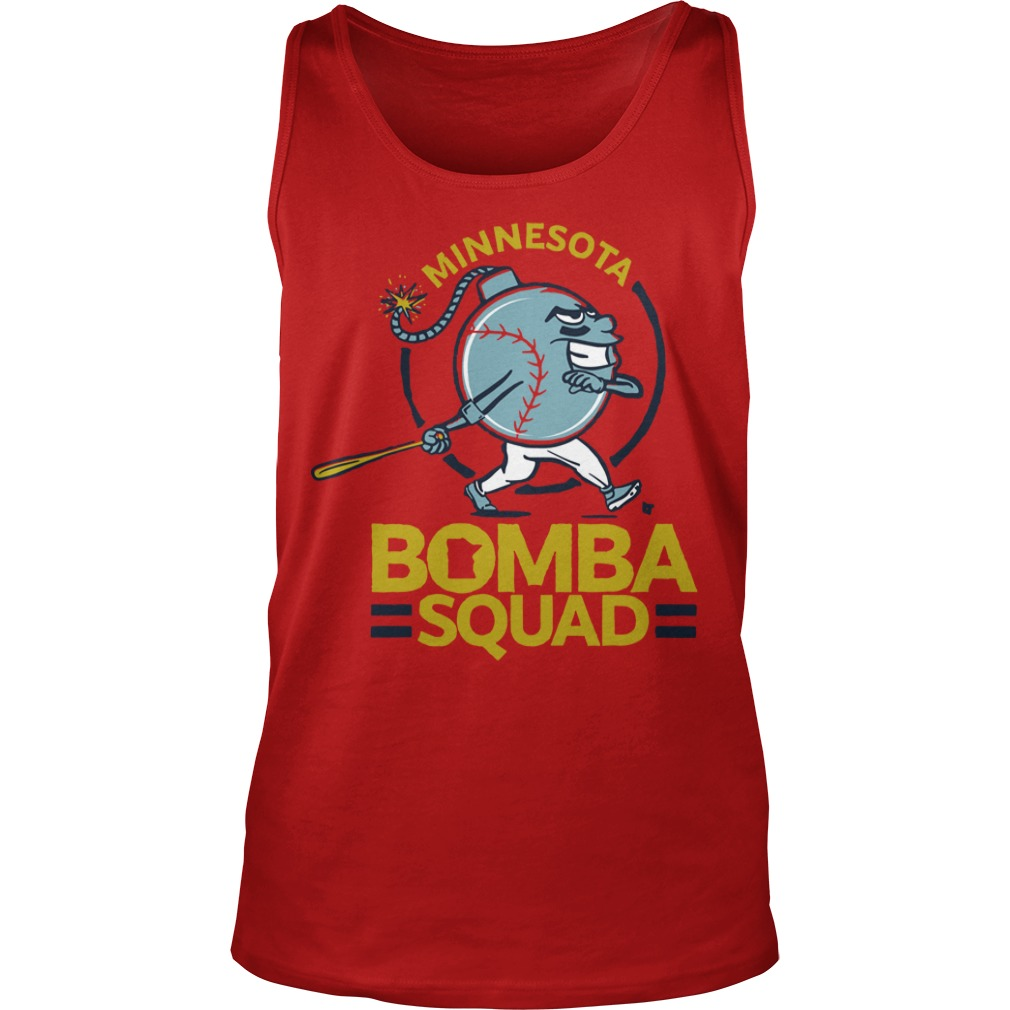 Minnesota Twins Bomba Squad Tank Top