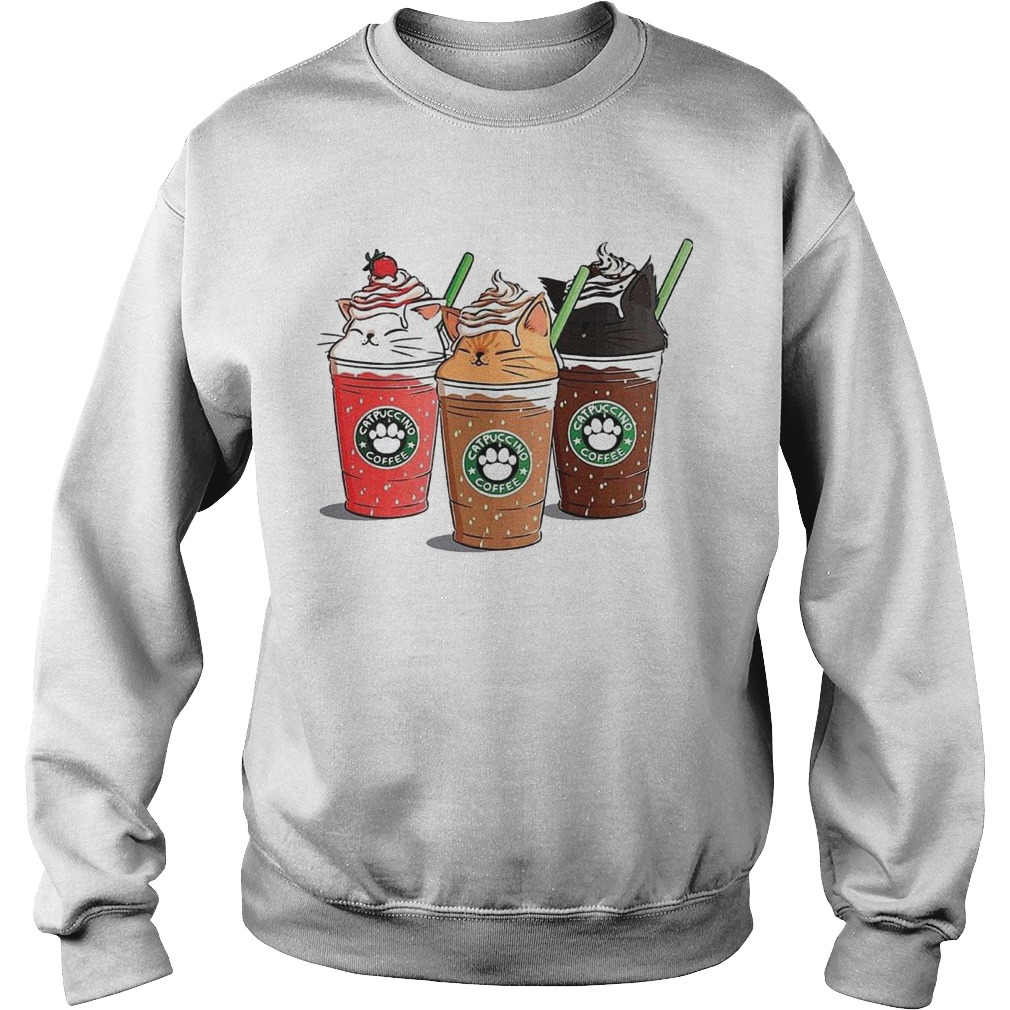 Starbuck Catpuccino Coffee Sweater