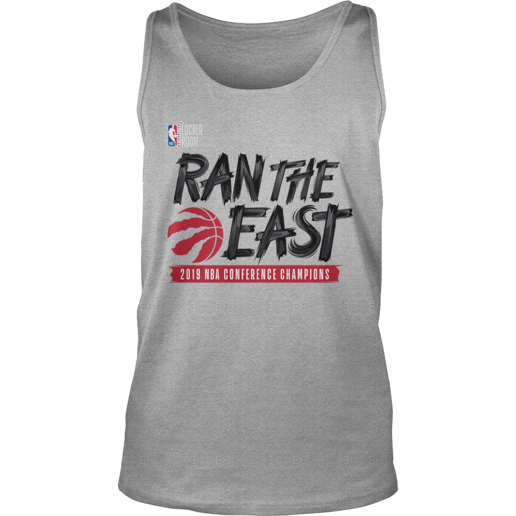Toronto Raptors Ran The East 2019 Nba Conference Champions Tank Top
