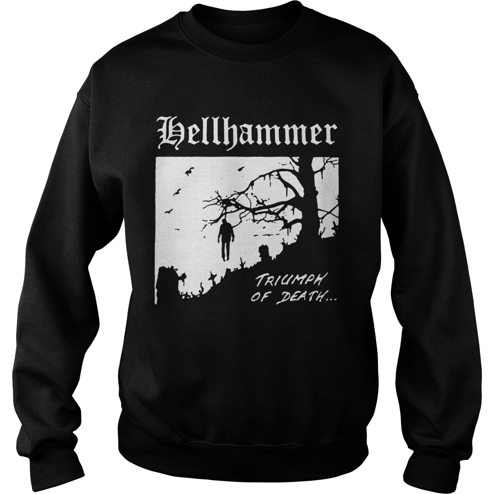 Tyler Boyce Nazi Hellhammer Triumph Of Death Sweater
