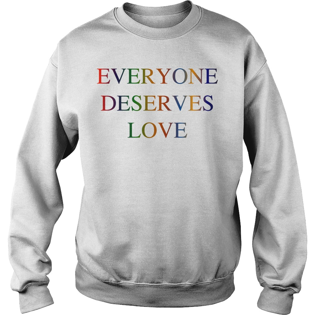Victoria Beckham Everyone Deserves Love Sweater