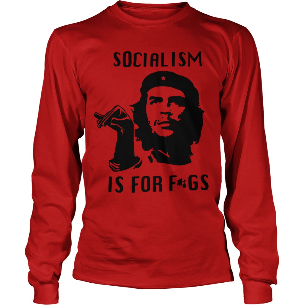 Youtube Steven Crowder Socialism Is For Fags Longsleeve Tee