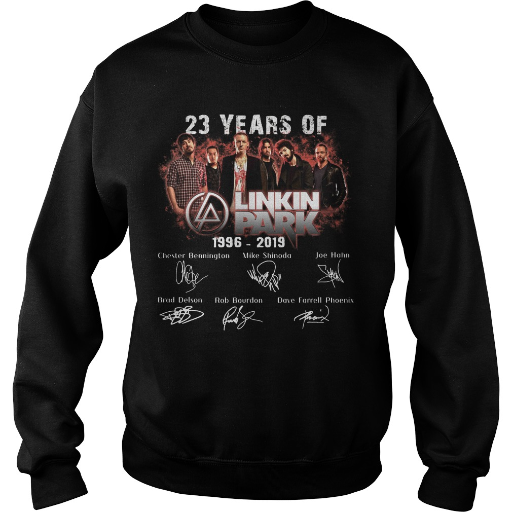 23 Years Of Linkin Park 1996 2019 Sweater