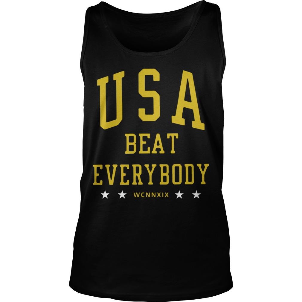 Alex Morgan Usa Beat Everybody Tank Top
