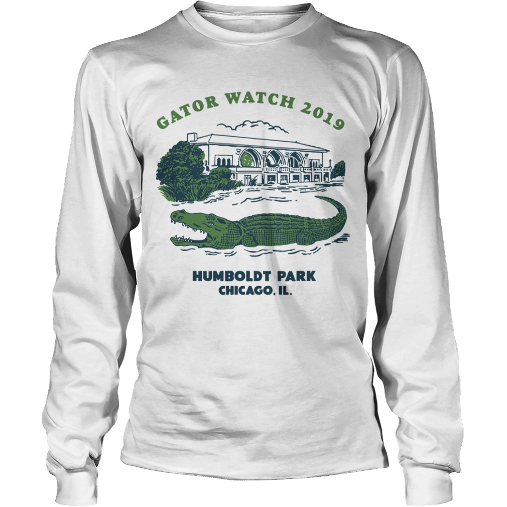 Block Club Chicago Humboldt Park Chicago Il Gator Watch 2019 Longsleeve Tee