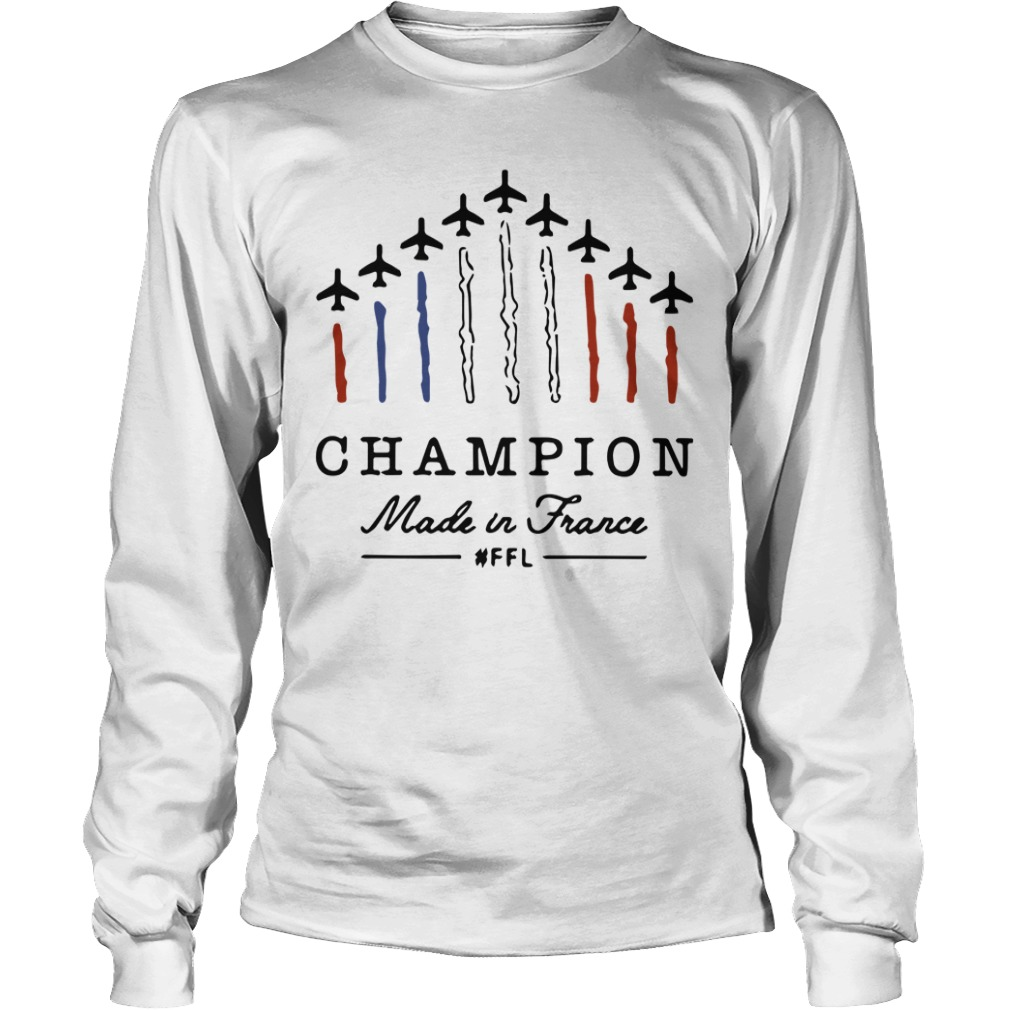 Champion Made In France #ffl Longsleeve Tee
