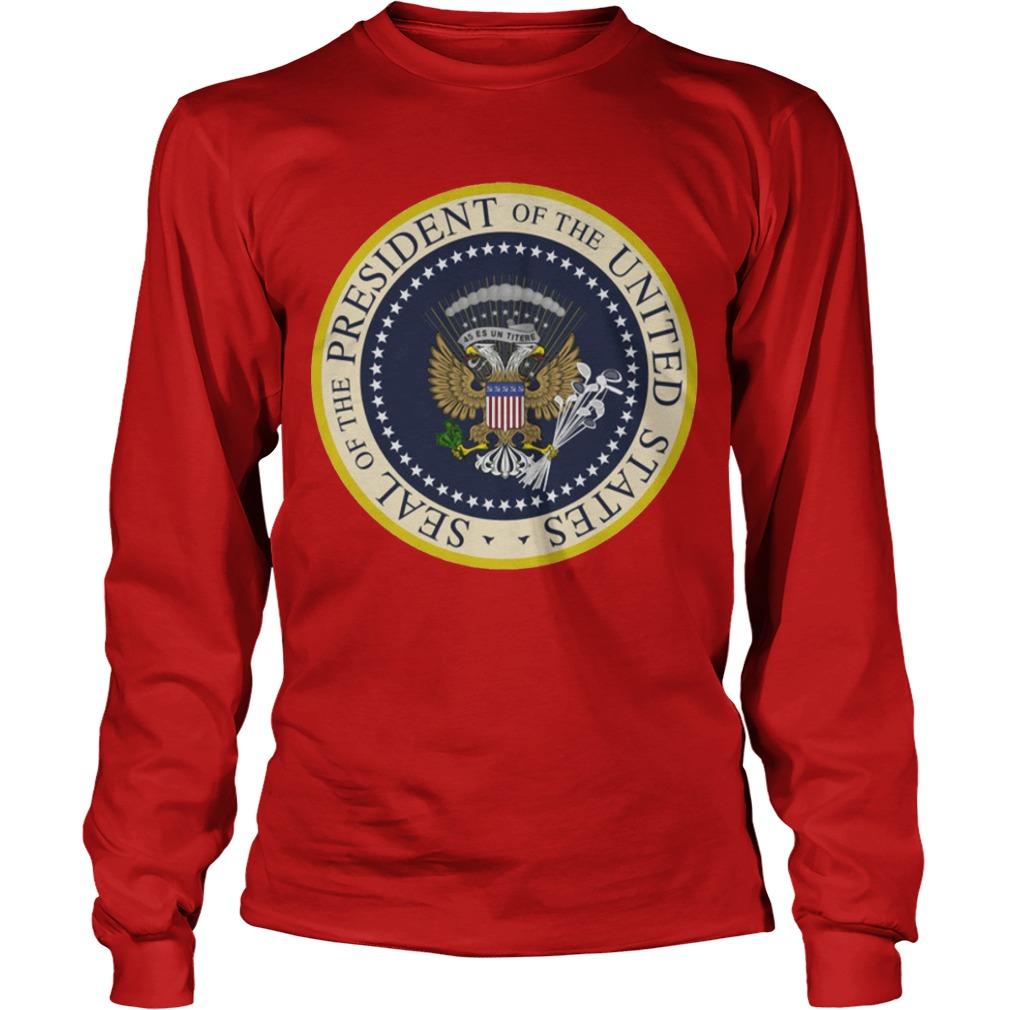 Fake Presidential Seal Longsleeve Tee