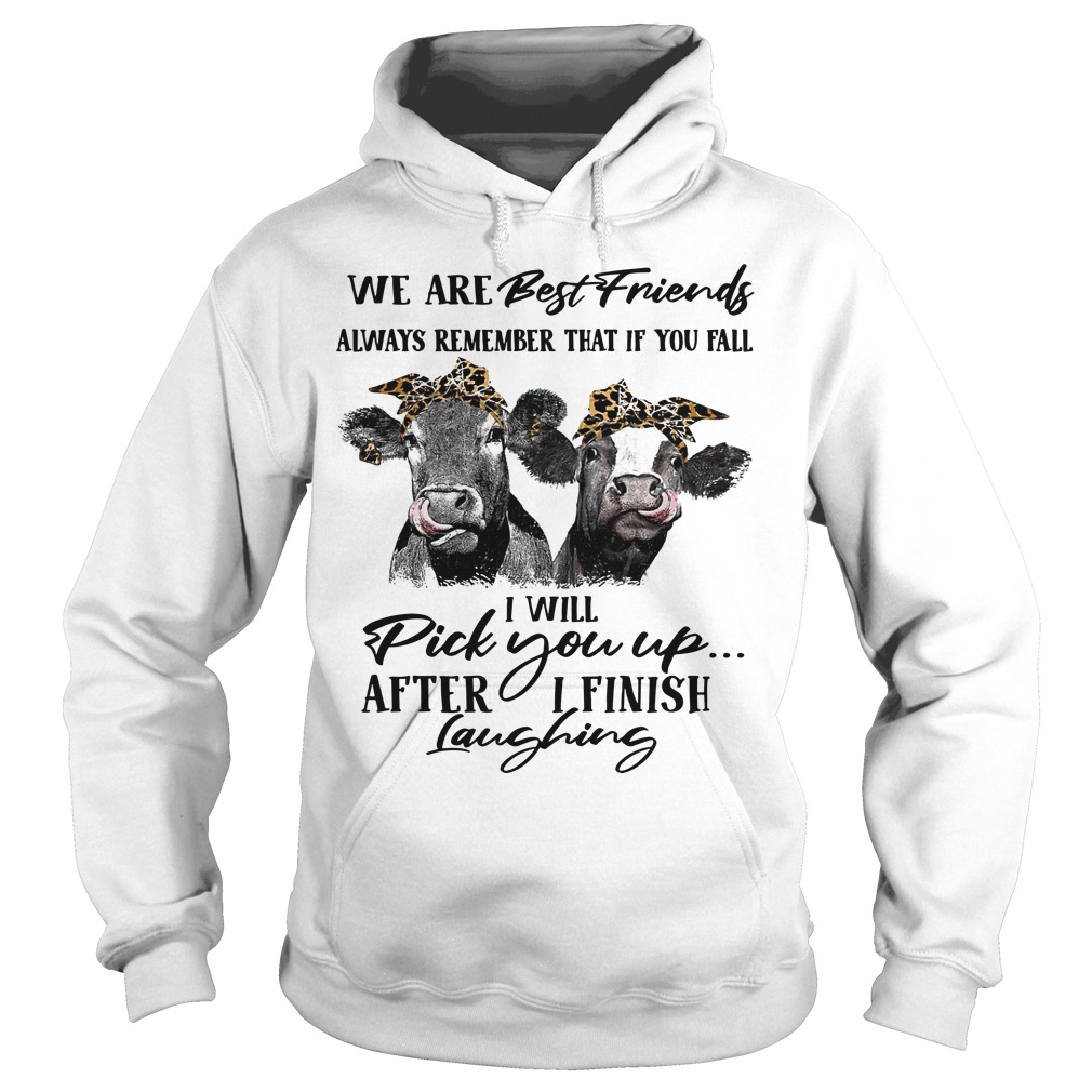 Heifer We Are Best Friends Always Remember That If You Fail Hoodie