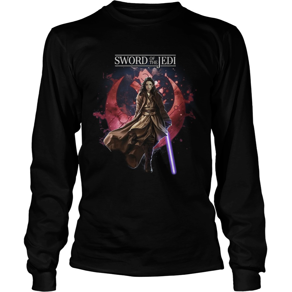 Jaina Solo Sword Of The Jedi Longsleeve Tee