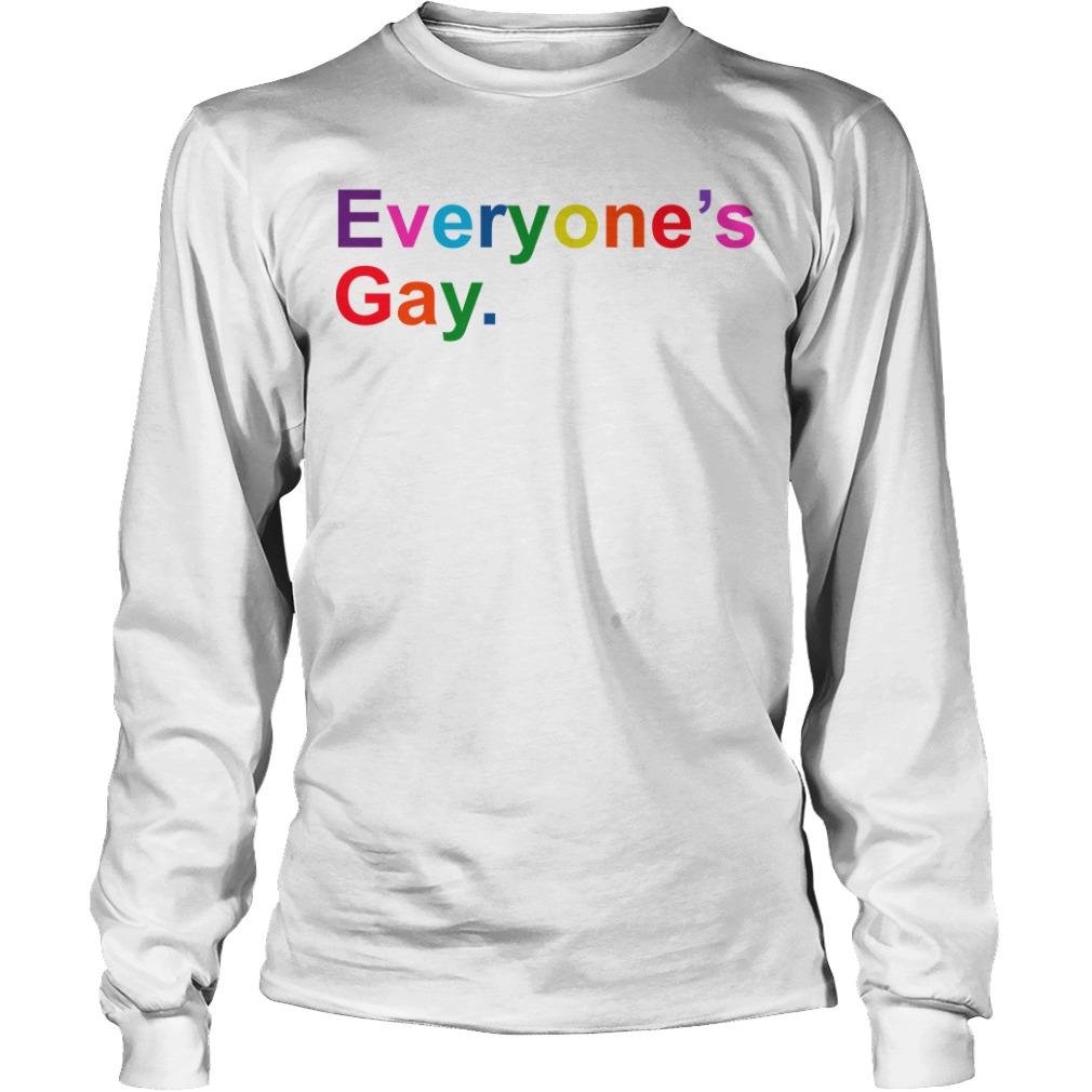 Khadi Don Pride Month Everyone's Gay Longsleeve Tee