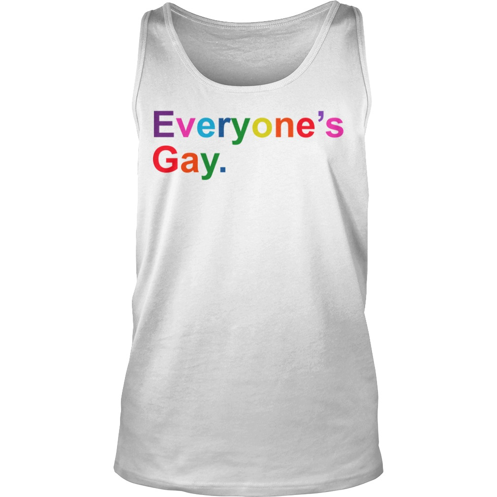 Khadi Don Pride Month Everyone's Gay Tank Top