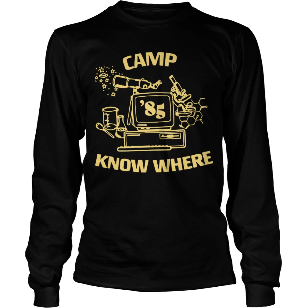 Levi's X Stranger Things Camp Know Where Longsleeve Tee