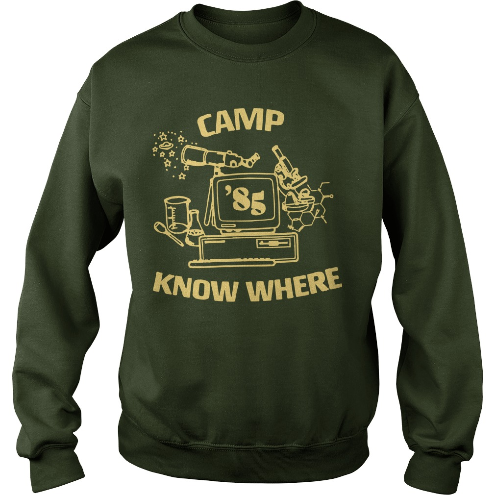 Levi's X Stranger Things Camp Know Where Sweater