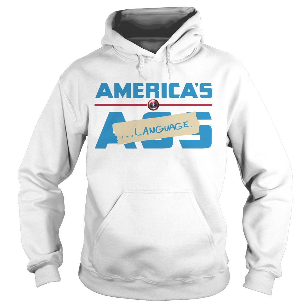 Marvel America's Ass Language Hoodie