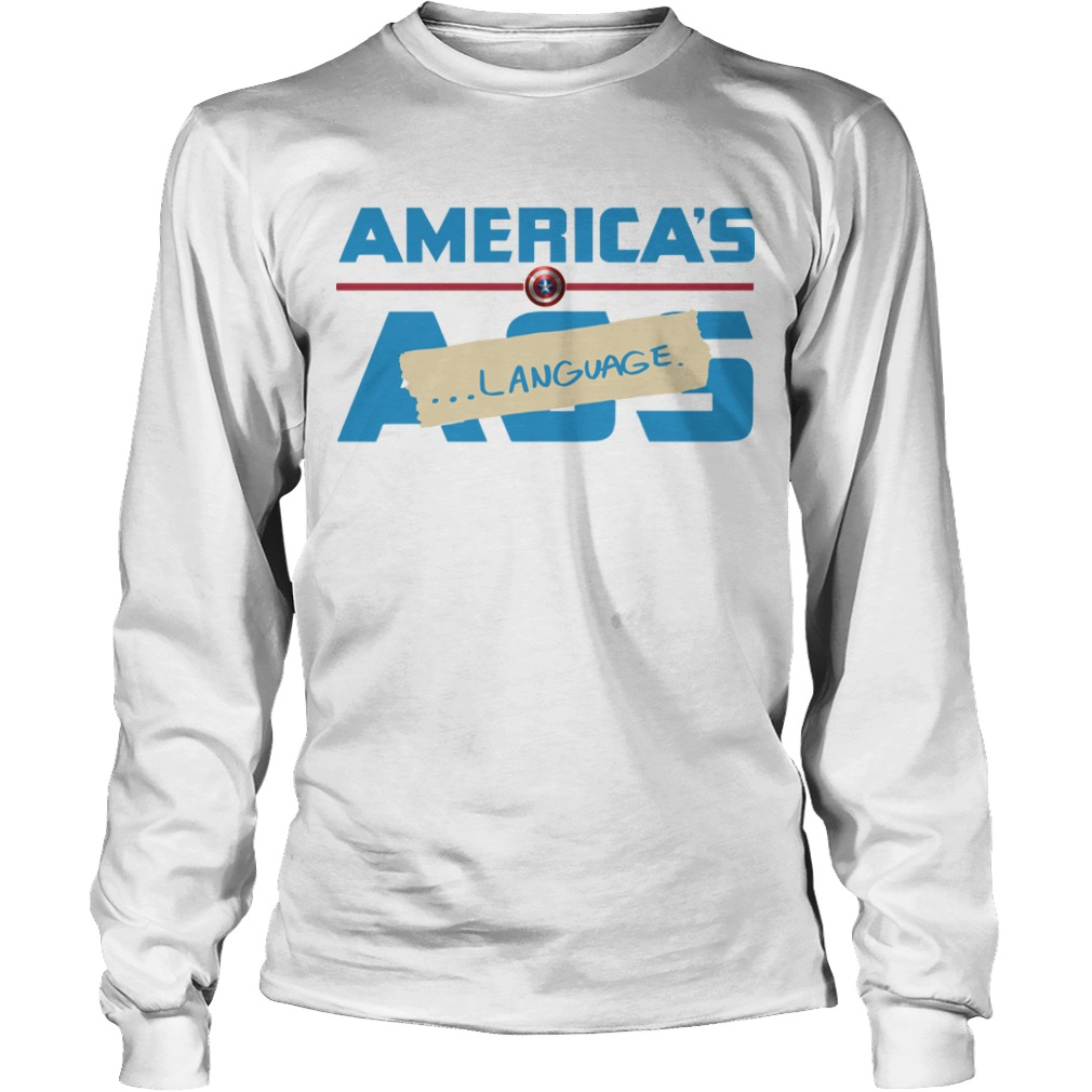 Marvel America's Ass Language Longsleeve Tee