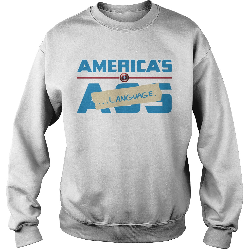 Marvel America's Ass Language Sweater