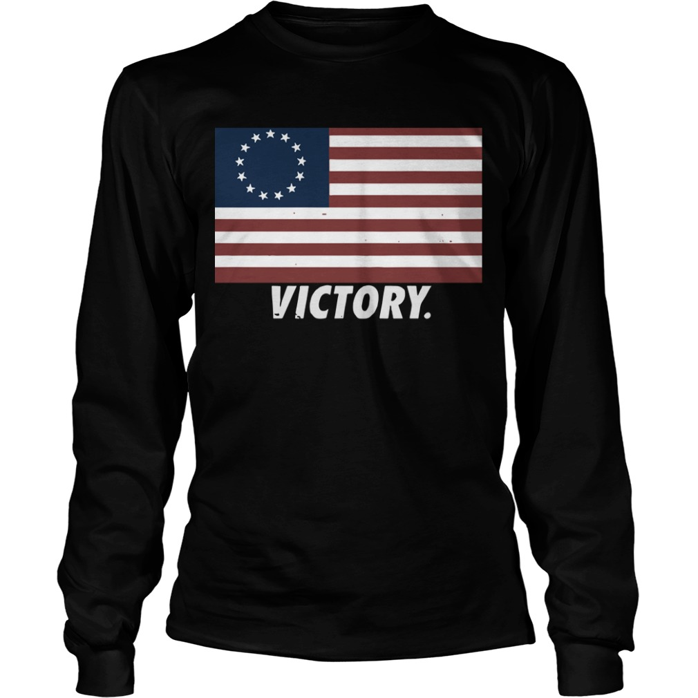 Nine Line Apparel Betsy Ross Flag Longsleeve Tee