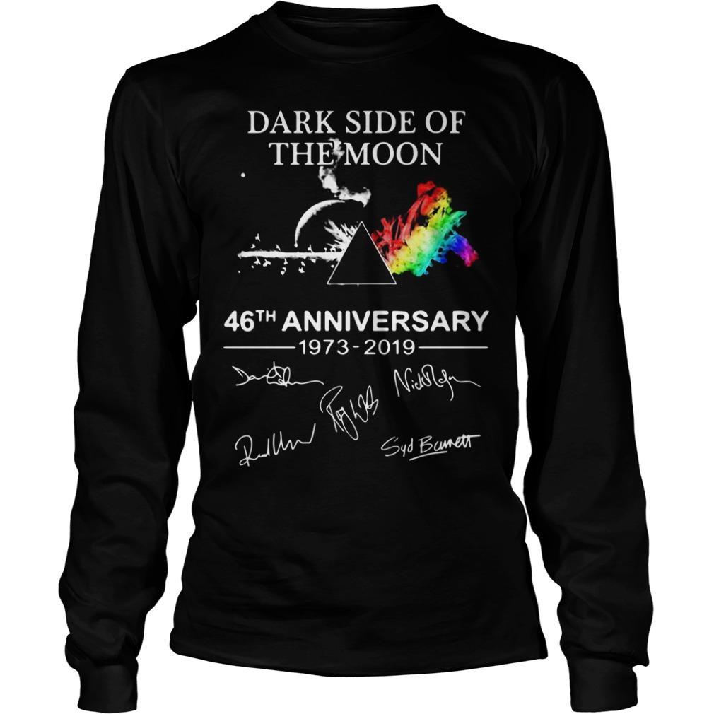 Pink Floyd Dark Side Of The Moon 46th Anniversary 1973 2019 Longsleeve Tee