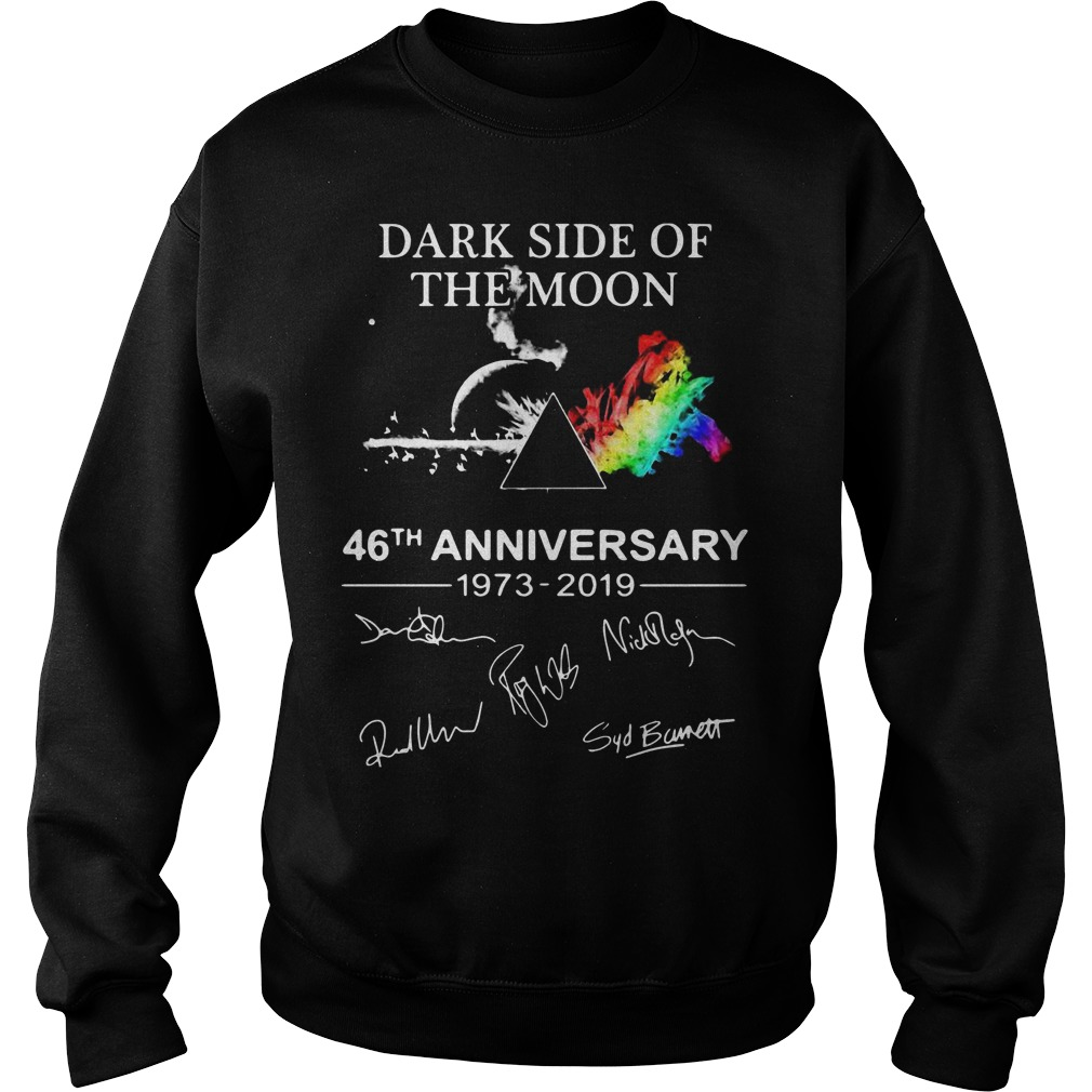 Pink Floyd Dark Side Of The Moon 46th Anniversary 1973 2019 Sweater