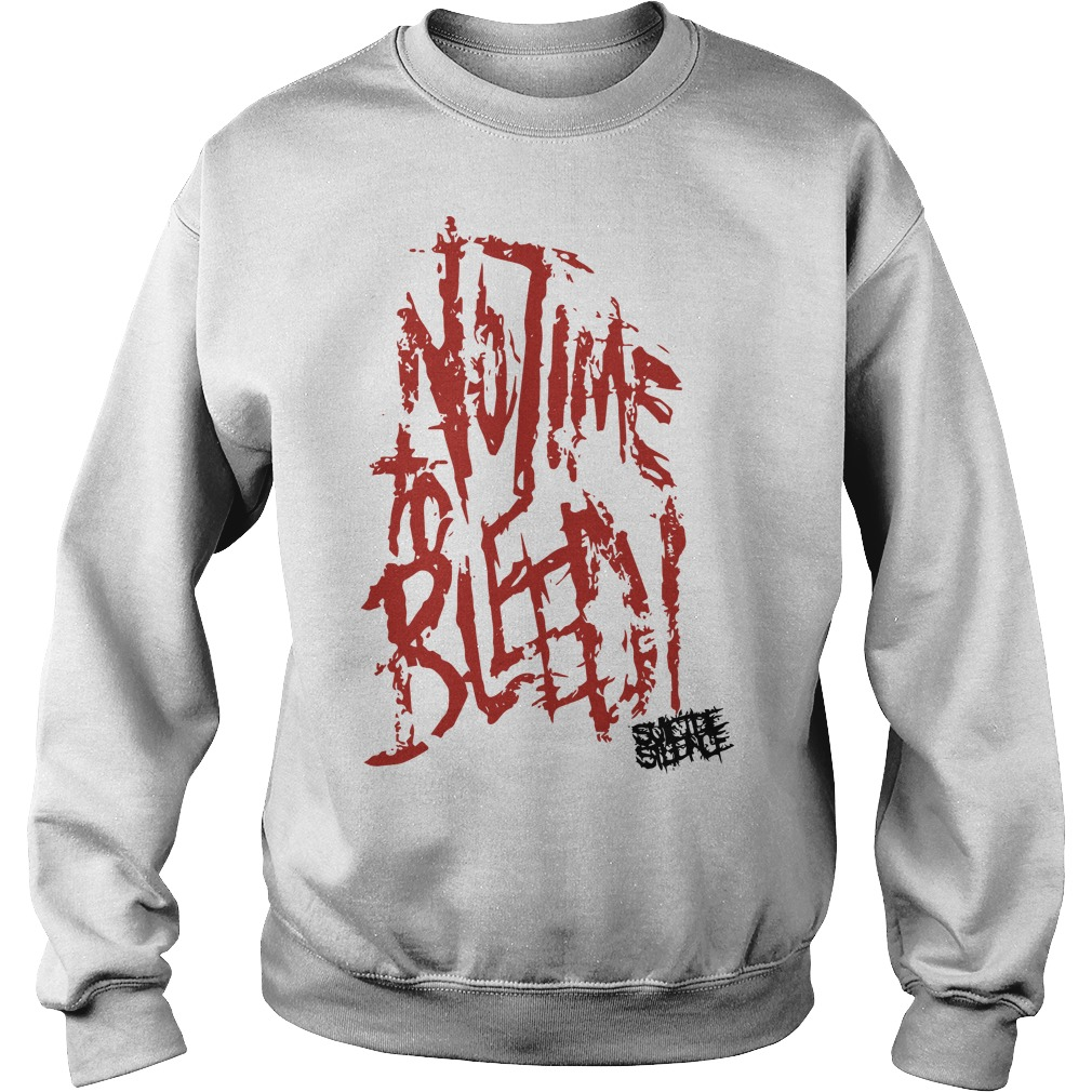 Suicide Silence No Time To Bleed Sweater