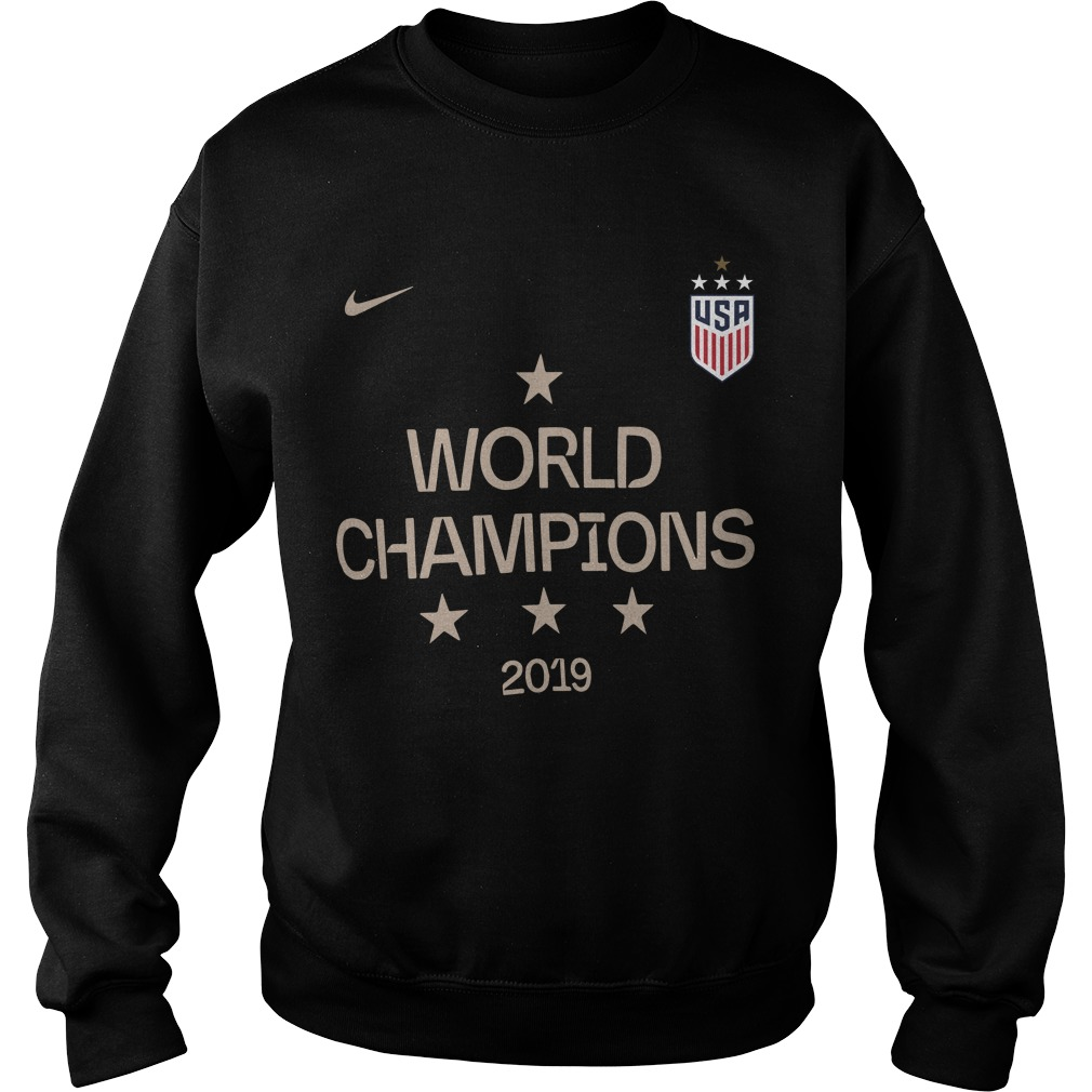 Uswnt World Champions Sweater 2019