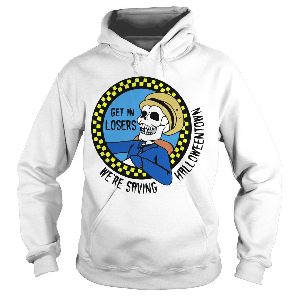 Benny Taxi Driver Get In Losers We're Saving Halloween Hoodie