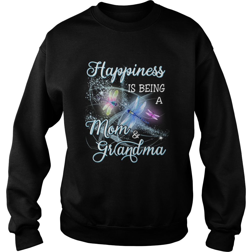 Butterfly Happiness Is Being A Mom And Grandma Sweater