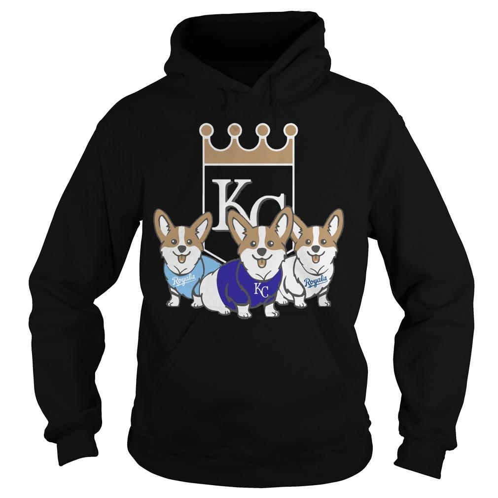 Corgi Kansas City Royals Hoodie