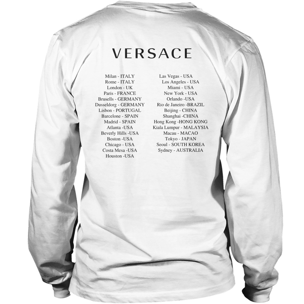 Donatella Versace China Longsleeve Tee