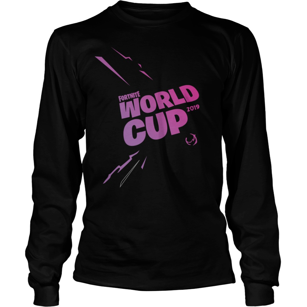 Fortnite World Cup 2019 Longsleeve Tee