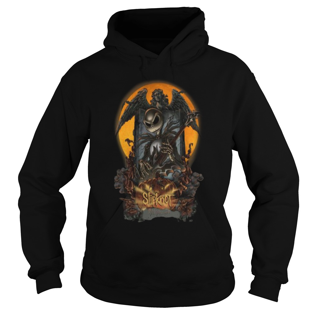Halloween Jack Skellington Slipknot Hoodie